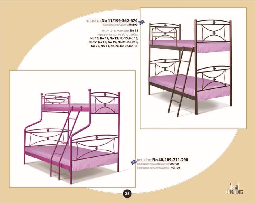 Κουκέτες κρεβάτια