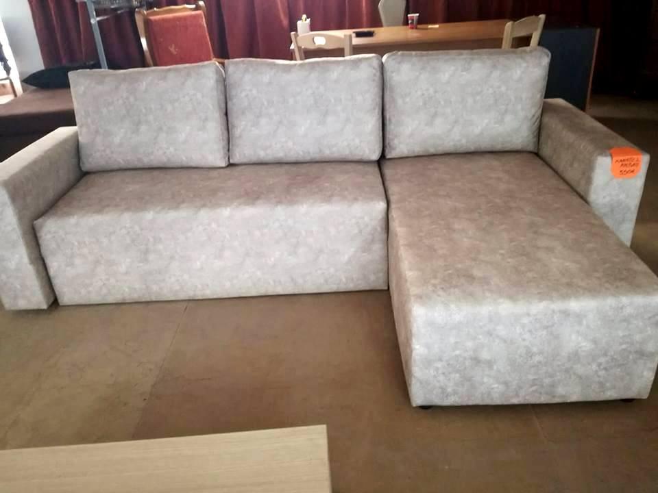 καναπές γωνία - κρεβάτι