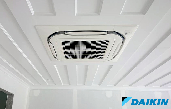 GBC Daikin κλιματιστικές μονάδες τύπου κασέτας